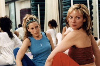 All the thoughts that cross my mind when I'm at a yoga class