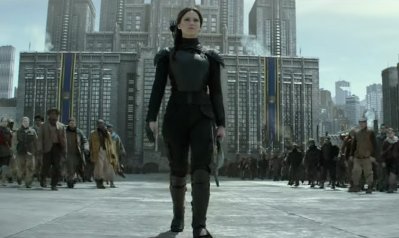 Ladies and gentlemen, welcome the 'Mockingjay 2' trailer!