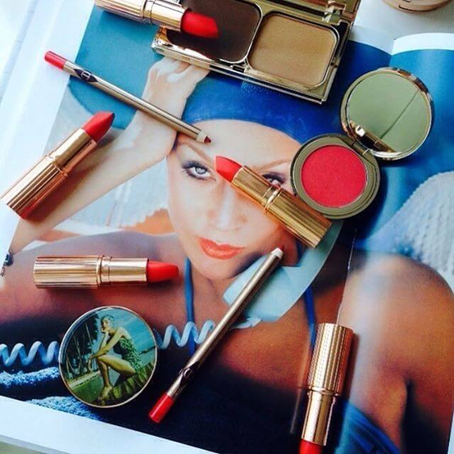 Lipstick inspired by Jerry Hall? Yes, please!