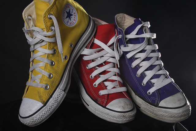 GASP. Chucks just got their first makeover in 98 years