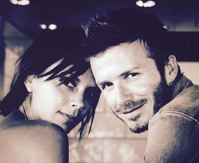 David Beckham's tribute to Victoria is making us melt