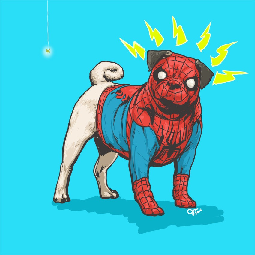 Finally, someone turned dogs into Marvel superheroes!