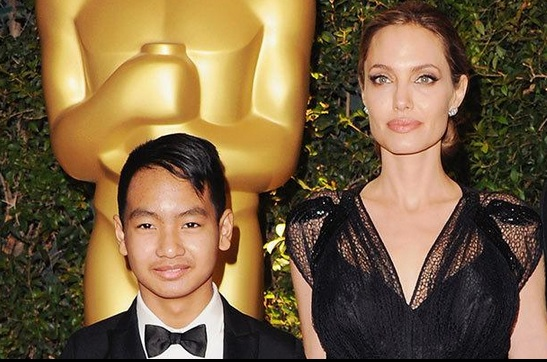 Angelina Jolie Pitt and her son are coming to Netflix!