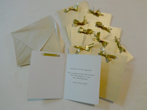 Just some DIY invitations for your next summer bash