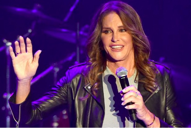 Caitlyn Jenner introduced Boy George at the Greek, got a standing ovation, because of course