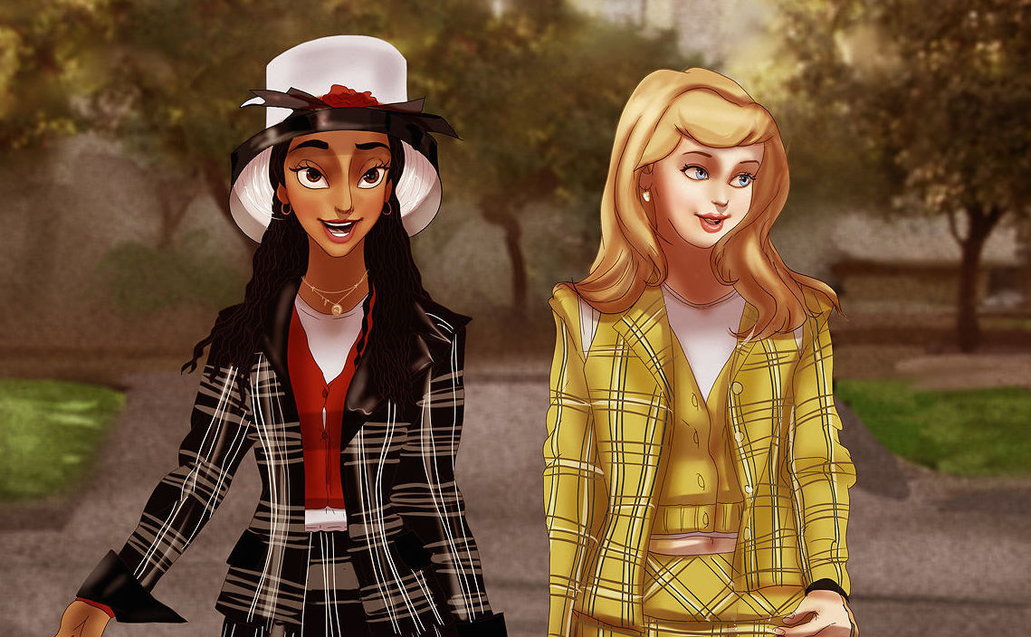 Here's what Disney Princesses would look like in 'Clueless'