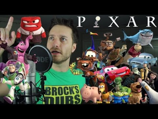 This genius comedian can do spot-on impressions of 24 different Pixar characters