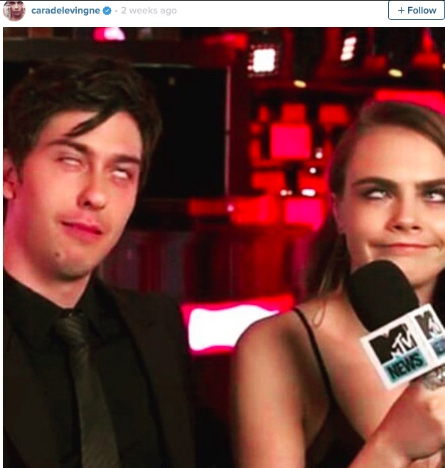 Cara Delevingne was officially the most hilarious person on the 'Paper Towns' set