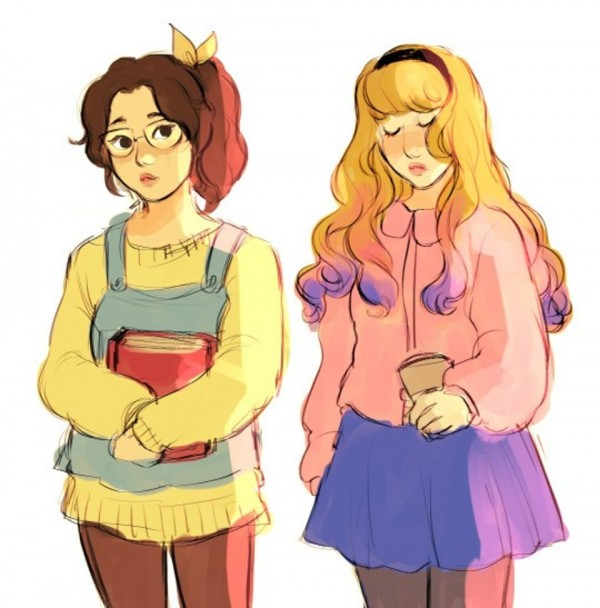 These Disney Princesses as regular teens might be the most realistic reimaginings yet
