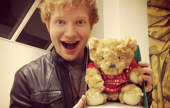 Another proposal? OK, Ed Sheeran is officially a human cupid