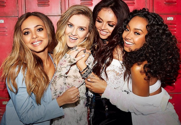 Little Mix is down to dance in their decades-spanning mash-up