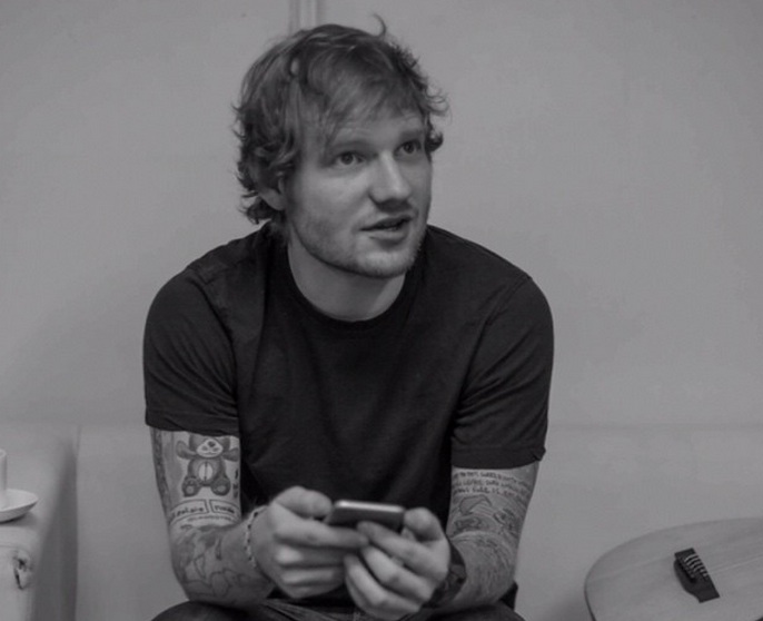 Ed Sheeran starring in a TV show is a real-life dream come true