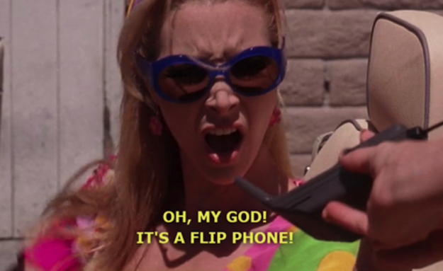 The flip phone is coming back into our lives