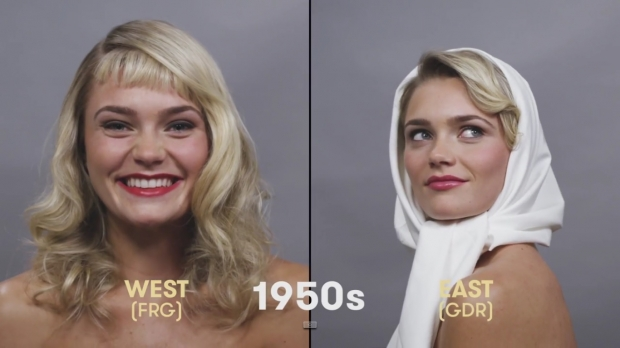 A century of German beauty in 90 seconds flat