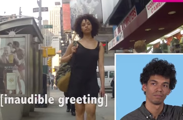 What happens when men watch their girlfriends getting catcalled