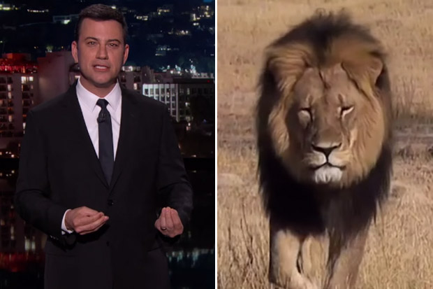 Jimmy Kimmel is just as heartbroken about Cecil the Lion as we are