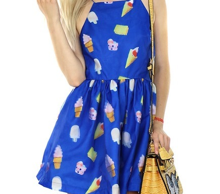 Cool yourself off in the cutest ice cream dress