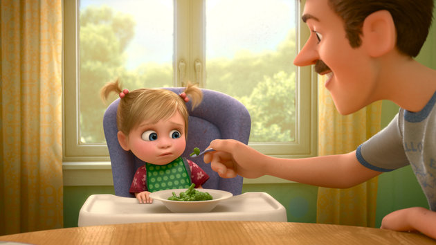 The food baby Riley hated in 'Inside Out' was different depending on where you live