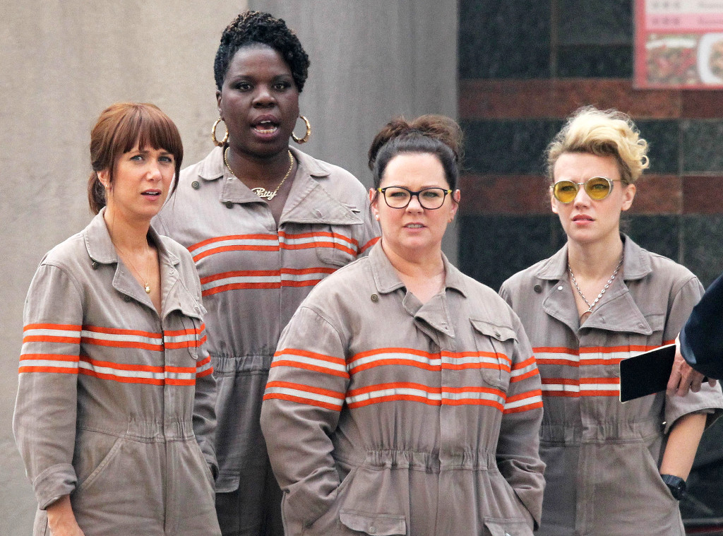 The lady Ghostbusters just suited up for the sweetest reason