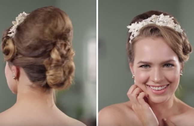 6 decades of bridal hair are giving us the day's hairspiration