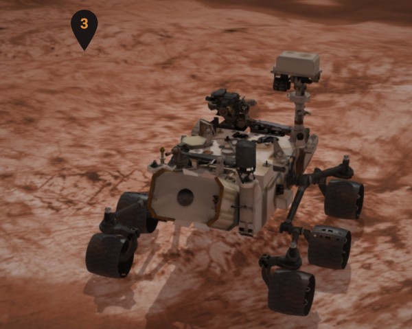 Just an FYI that you can drive the NASA Mars Curiosity Rover simulator