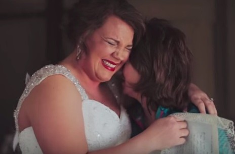 This mother gave her daughter the most touching wedding gift