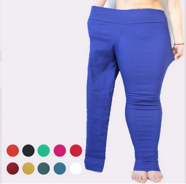 These plus-size leggings are being marketed in the most bizarre way