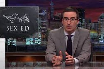 John Oliver, Laverne Cox and Nick Offerman give us the sex ed lesson we've been waiting for
