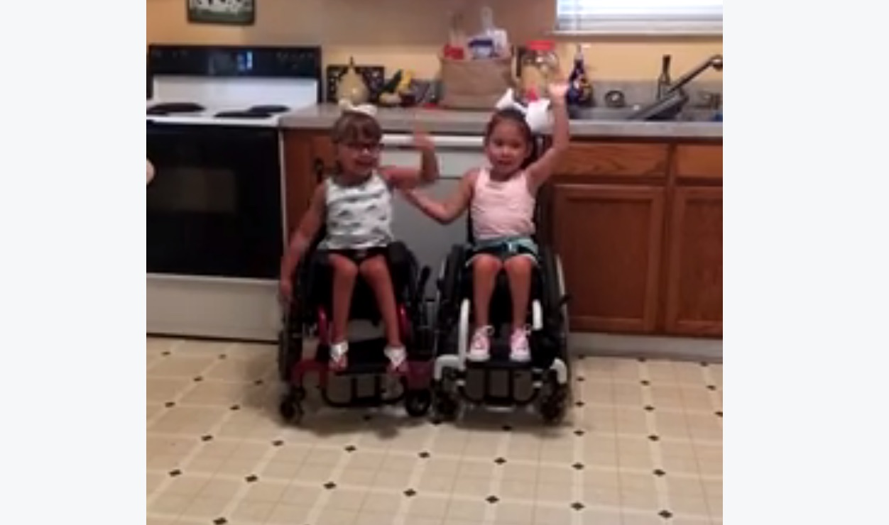 These little girls are the stars of their wheelchair dance class (and the stars of our hearts)
