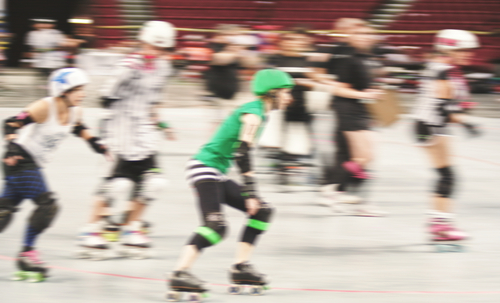 How a roller derby badass chased down a mugger — and saved the day