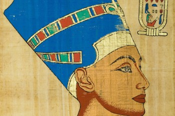 Queen Nefertiti's (badass/fave Egyptian queen, mom of King Tut) tomb may have been found