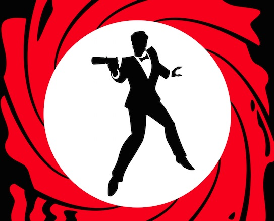 We're getting a black James Bond... kind of