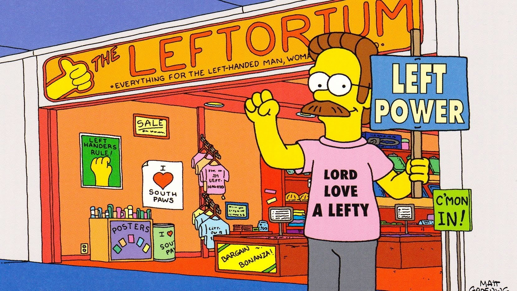All the reasons to be proud you're a lefty. Reason #1: It's Left-Handed Day
