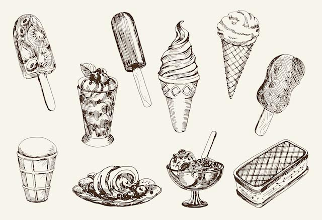 A tribute to all the ice creams I've loved and lost