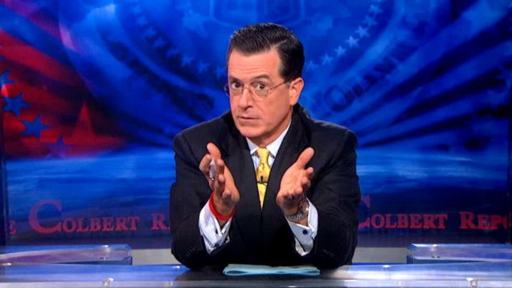 Stephen Colbert chimes in on why women should run the world. We love him.