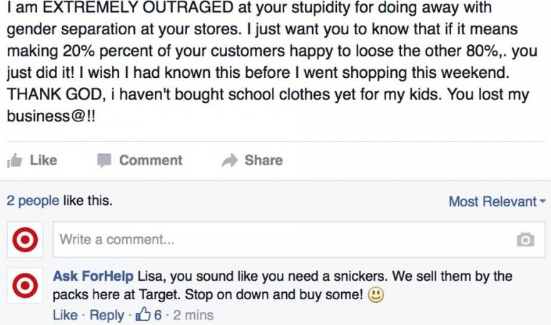 How one dude shut down the haters of Target's gender-neutral policy