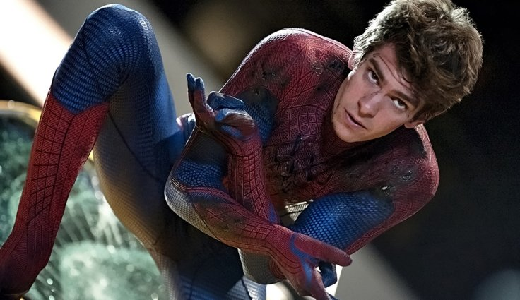 Andrew Garfield is being super awesome about passing off the Spidey suit to Tom Holland