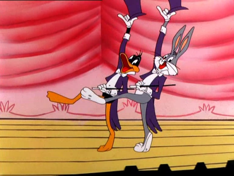 Today in silliness: watch Bugs Bunny do the whip (AND the nae nae)
