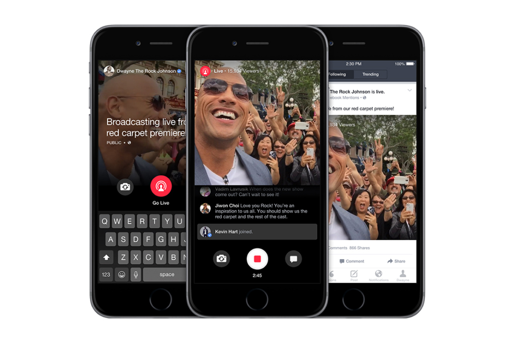 Live streaming might become the main thing you do on Facebook
