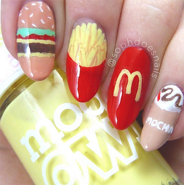 Nails of the Day: Golden arches