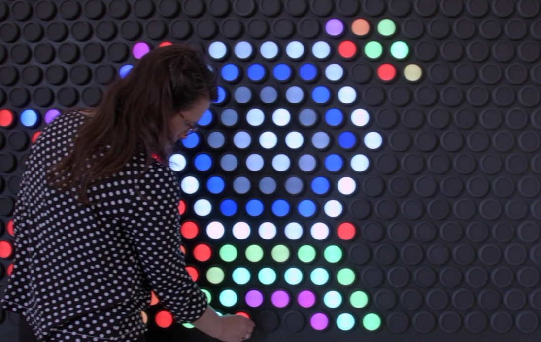 A giant Lite-Brite has been created for adults, be still our Lite-Brite-loving hearts