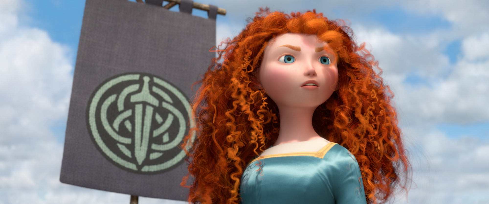 We have our first look at Merida on 'Once Upon a Time'