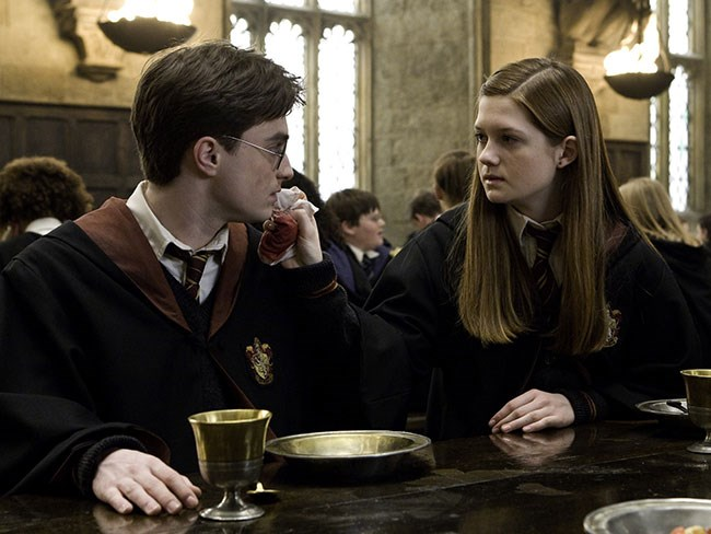 Definitive proof that Harry Potter and Ginny Weasley were ALWAYS meant for each other