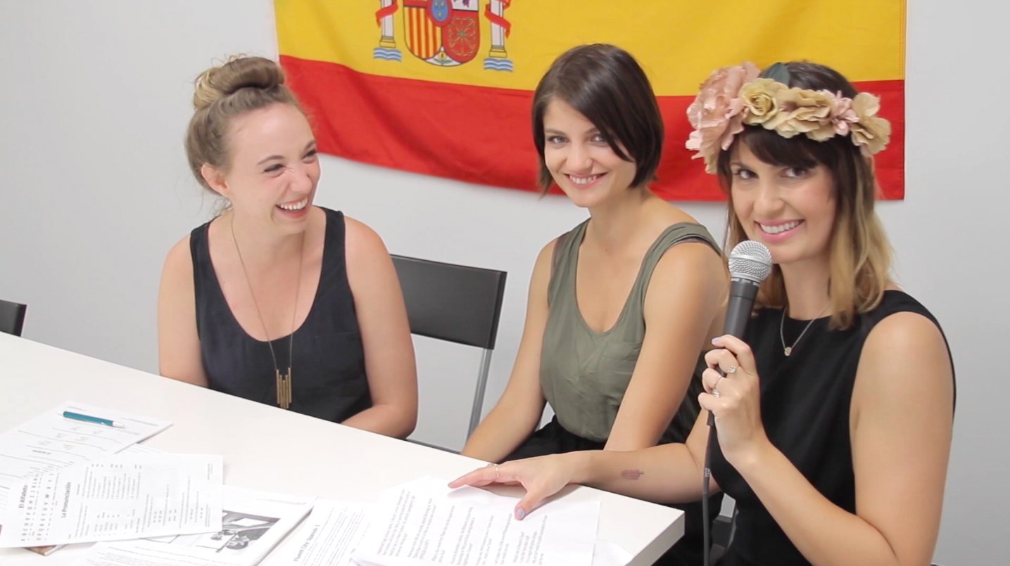 Inconveniently Interviewing the Ladies from 'Fort Tilden' in their Spanish class