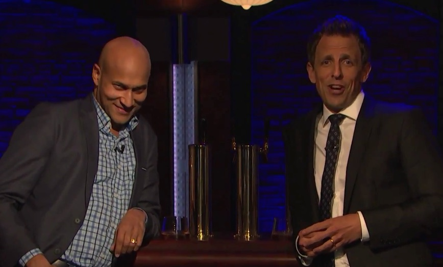 Keegan-Michael Key and Seth Meyers test out their most awkward pickup lines