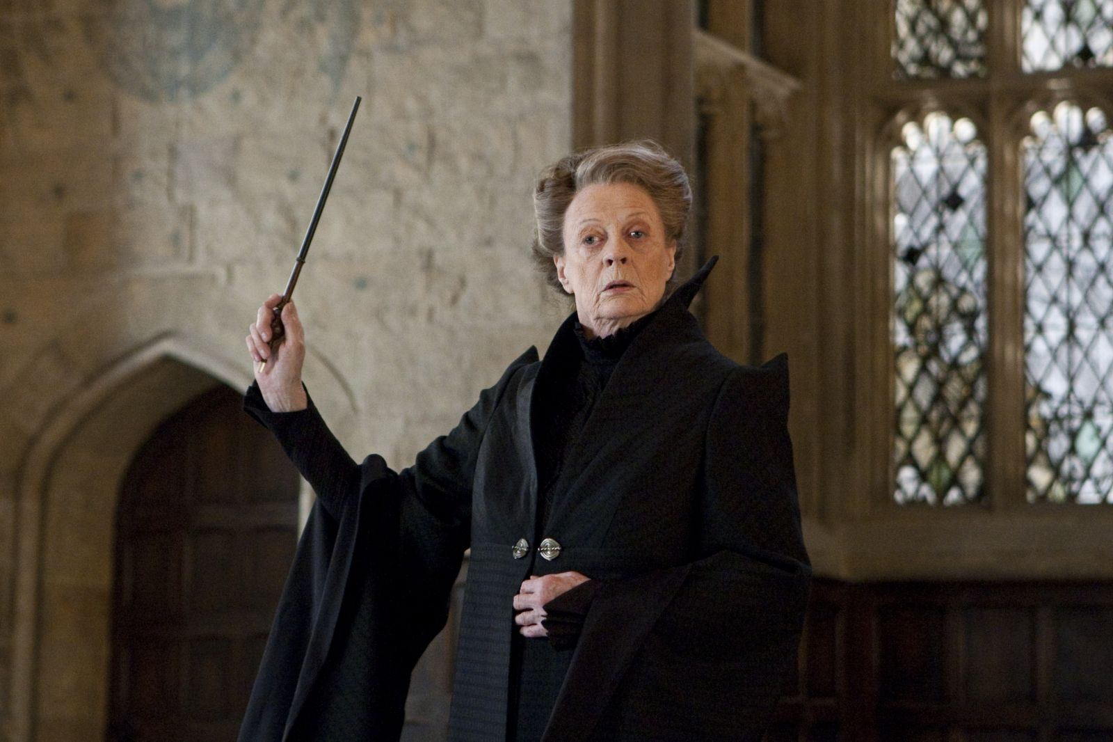 Why we're crushing hard on 'Harry Potter' professor Minerva McGonagall