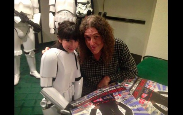 The beautiful way these  Star Wars super fans cheered up a bullied little girl