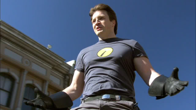 Nathan Fillion knows EXACTLY which superhero he wants to play next