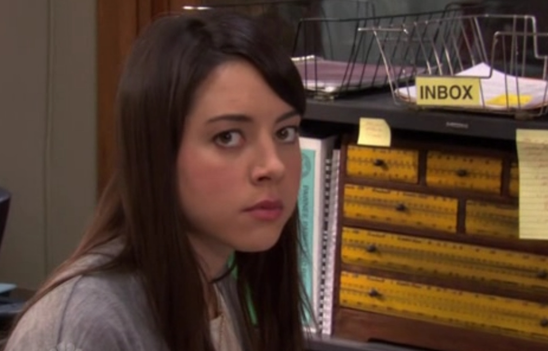 Everything I need to know, I learned from April Ludgate