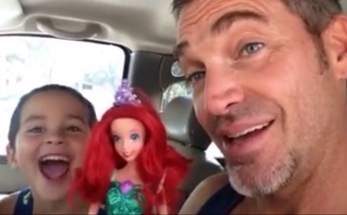 This dad's reaction when his son chose a Barbie doll for his birthday is perfect